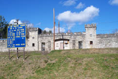 Mount Hope Municipal Stadium is a castle-like structure built by the coal company and donated to the city. The Mount Hope Mustangs play football in this arena with fans from town cheering.