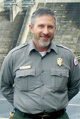 "David Eskridge is the Resource Manager at Sutton Lake. ""I started as a Ranger here in 1975,"" said Officer Eskridge. ""What I enjoy the most is making ongoing improvements that make recreation at this facility more enjoyable for guests."" Sutton Lake receives more than half a million visitors each year."