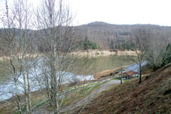 Sutton Dam and Lake provide opportunities for boating, picnicing, playgrounds, camping and pavilions available for rent. A handicap-access fishing area was constructed in the tailwaters which is regularly stocked with trout by the West Virginia Division of Natural Resources.