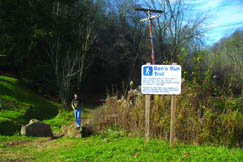 Ben's Run Trail was constructed by Patch 21st Community Service Group, the City of Spencer and the West Virginia Office of Healthy Lifestyles. It is now enjoyed by many people who want a relaxing scenic walk through the woods.