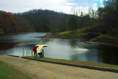 Charles Fork Lake is owned by the City of Spencer and provides a multi-use area with over 25 miles of trails surrounding a mile long lake with excellent fishing, canoeing, camping, hiking and bike trails. The Lake was built in 1974 to provide a larger drinking water reservoir for the town.