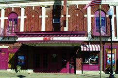 The longest continuously running movie theatre in the nation, The Robey shows first run films in its historic auditorium, complete with balcony seating and fresh popcorn. In 2007 the neon marquee was restored and put back into service.