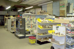 Elswick Home Center sells hardware and building supplies in their Dixie retail store.