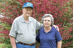 Kenneth and Delores Fox celebrated their 59th wedding anniversary in 2009