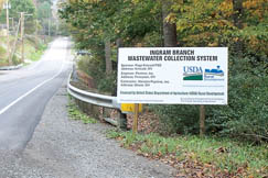 The result of a five year effort, a $20 million wastewater project will be completed in 2009.