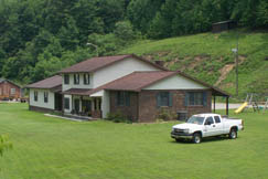 Homes in Lizemores, West Virginia