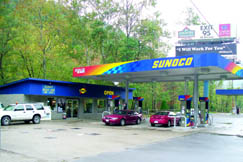 The Mahan Sunoco Station